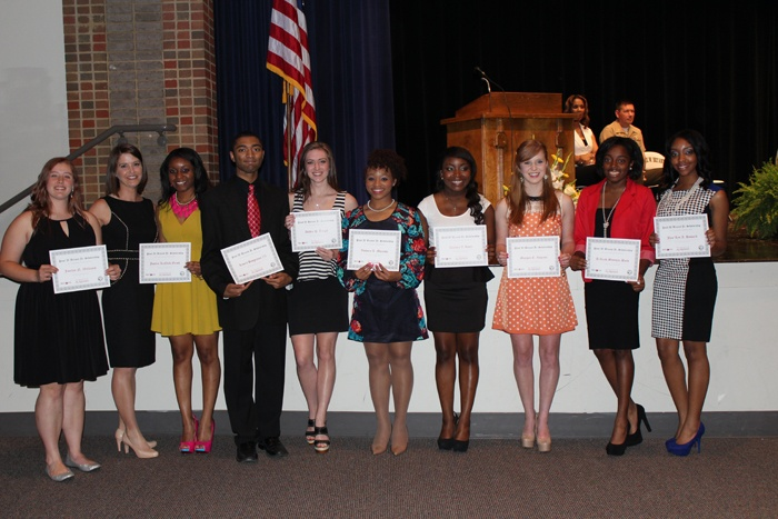 Bryant Scholarship Winners