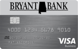 Bryant Bank Visa Business Credit Card